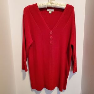 Red Sweater  NWOT